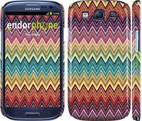 "Чехол на Samsung Galaxy S3 Duos I9300i Шеврон v4 ""1059c-50"""