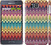 "Чехол на Samsung Galaxy Alpha G850F Шеврон v4 ""1059c-65"""