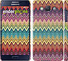 "Чехол на Samsung Galaxy A5 A500H Шеврон v4 ""1059c-73"""