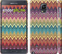 "Чехол на Samsung Galaxy Note 4 N910H Шеврон v4 ""1059c-64"""