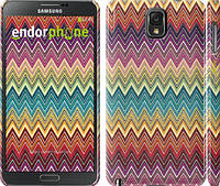 "Чехол на Samsung Galaxy Note 3 N9000 Шеврон v4 ""1059c-29"""