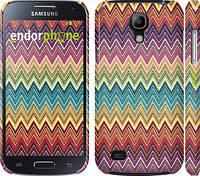 "Чехол на Samsung Galaxy S4 mini Duos GT i9192 Шеврон v4 ""1059c-63"""