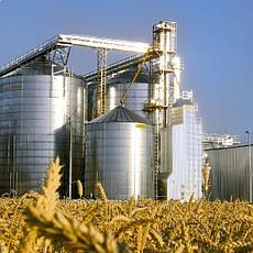 Элеваторы и зернохранилища