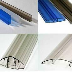 Комплектуючі для полікарбонату і панелей ПВХ
