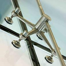 Крепежные системы для стекла и стеклянных конструкций