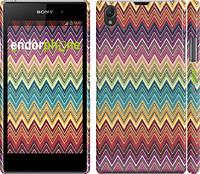 "Чехол на Sony Xperia Z1 C6902 Шеврон v4 ""1059c-38"""