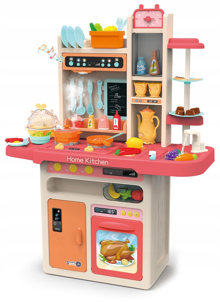 Большая интерактивная кухня Beibe Good KP9294 889-156 (розовая)
