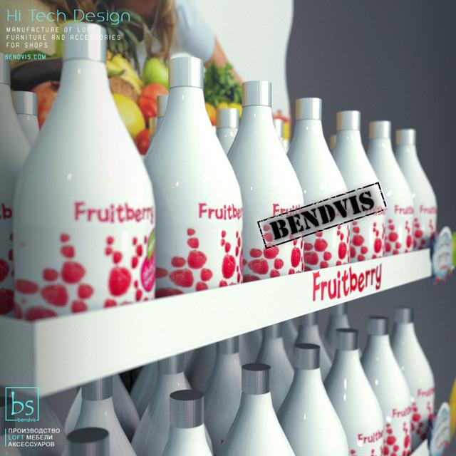 Торговый стенд Fruitberry от Bendvis 1