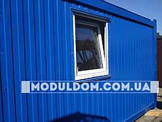 Мобильный жилой модуль для прораба (6 х 2.4 м.), на основе цельно-сварного металлокаркаса., фото 2