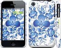 "Чехол на iPhone 3Gs Гжель ""251c-34"""