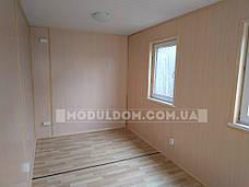 Мобильный офис для проведения встреч (8 х 2.4 м.), санузел, душевая, тамбур., фото 3