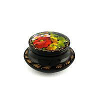 Шкатулка с ручной росписью Цветики