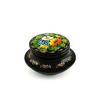 Шкатулка с ручной росписью Солнечная Ромашка