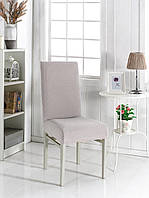 Безразмерный чехол на стул светло лиловый