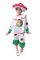 Детский маскарадный костюм мухомора
