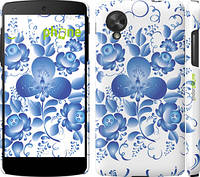 "Чехол на LG Nexus 5 Гжель ""251c-57"""