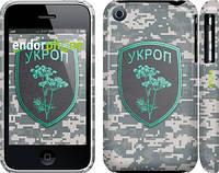 """Чехол на iPhone 3Gs Укроп """"1219c-34"""""""
