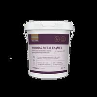Акриловая эмаль для древесины и металла 0,9 л