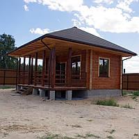 Строительство домов с профилированного бруса
