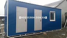 Мобильный офис (7 х 2.5 м.) со складским помещением, фото 2