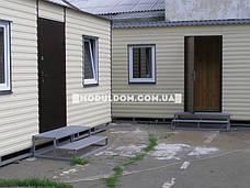 Мобильный офис (6 х 3 м.), на основе цельно-сварного металлокаркаса., фото 2