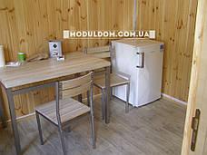 Мобильный офис (6 х 3 м.), на основе цельно-сварного металлокаркаса., фото 3