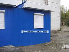 Мобильный офис (7 х 3.5 м.), пристройка, на основе цельно-сварного металлокаркаса., фото 3