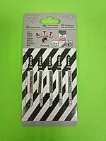 Пилочки для електролобзика а.т.т. Т 101 АТ (спеціальна фанера, столярна плита, м'яка деревина) 5шт