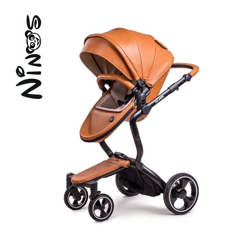 Коляска Ninos A88 MARRóN коричневый 2в1