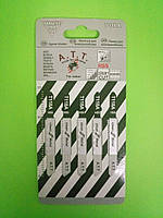 Пилочки для електролобзика а.т.т. Т 118 А (для тонколистового металу 1-3мм) 5шт