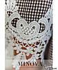 """Платье А-силуэта, """"гусиная лапка"""", кружево 50-52,54-56,58-60, фото 4"""