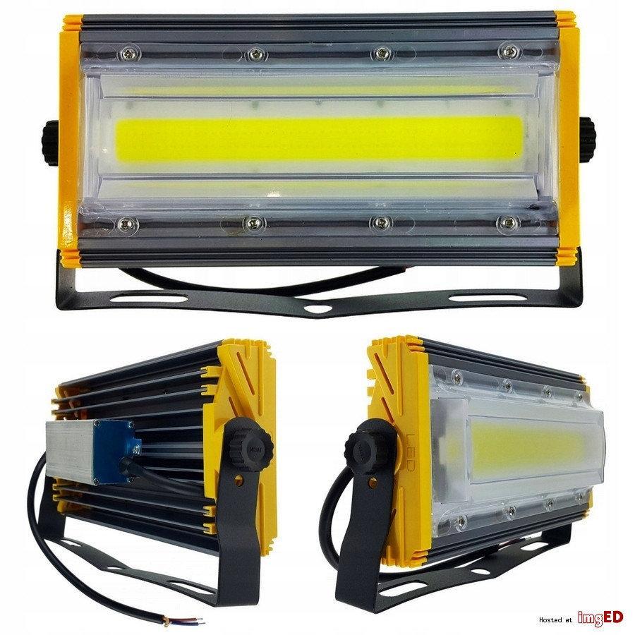 Прожектор светодиодный LED уличный 50W 5000LM 6000K, фото 1