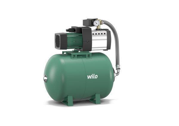 Система водоснабжения с мембранным напорным баком Wilo HiMulti 3 H 100-24P