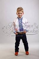Бисерная заготовка сорочки детской (для мальчика)СД-012