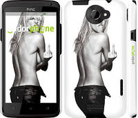 "Чехол на HTC One X+ Heidi Klum ""817c-69"""