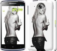 "Чехол на Lenovo S920 Heidi Klum ""817c-53"""