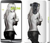"Чехол на LG G3 D855 Heidi Klum ""817c-47"""