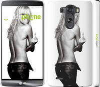 "Чехол на LG G3 dual D856 Heidi Klum ""817c-56"""