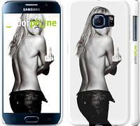 "Чехол на Samsung Galaxy S6 G920 Heidi Klum ""817c-80"""