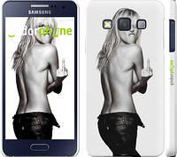 """Чехол на Samsung Galaxy A3 A300H Heidi Klum """"817c-72"""""""