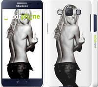 """Чехол на Samsung Galaxy A5 A500H Heidi Klum """"817c-73"""""""