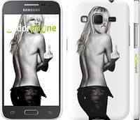 "Чехол на Samsung Galaxy Core Prime G360H Heidi Klum ""817c-76"""