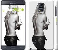 """Чехол на Samsung Galaxy Note 4 N910H Heidi Klum """"817c-64"""""""