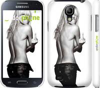 "Чехол на Samsung Galaxy S4 mini Heidi Klum ""817c-32"""