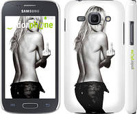 "Чехол на Samsung Galaxy Ace 3 Duos s7272 Heidi Klum ""817c-33"""