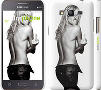 "Чехол на Samsung Galaxy Grand Prime G530H Heidi Klum ""817c-74"""