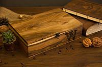 Деревянная шкатулка с персонализацией для мужских женских наручных часов, Креативный подарок на годовщину мужу