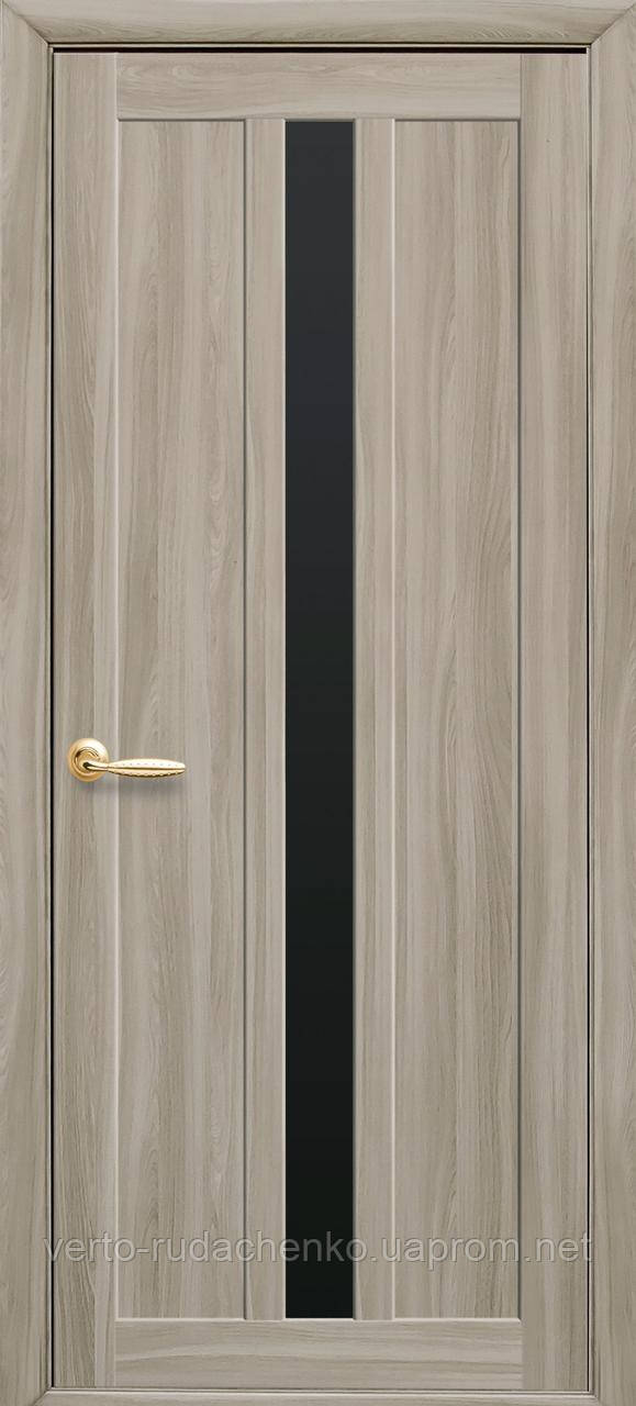 Двери коллекции Мода модель Марти Декор Ясень патина blk