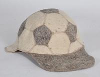 Шапка для бани и сауны войлочная Кепка футбол