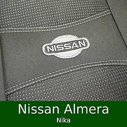 Чехлы на сиденья Nissan Almera (Nika)